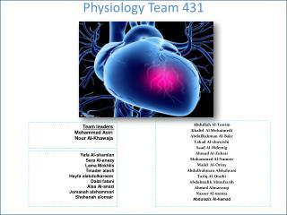 Physiology Team 431