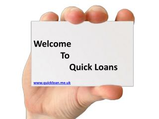Quick loans: Instant appoval without facing any hassle