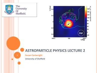 ASTROPARTICLE PHYSICS LECTURE 2