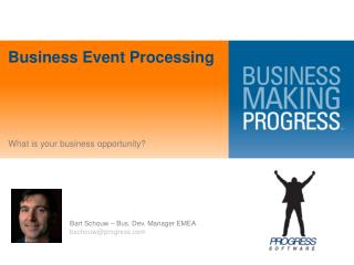 Business Event  Processing