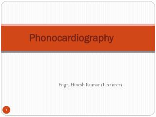 Phonocardiography