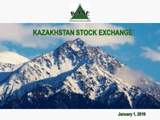 KAZAKHSTAN STOCK EXCHANGE