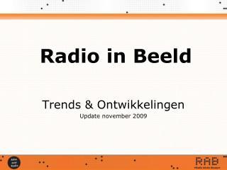Radio in Beeld