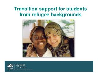 Transition support for students from refugee backgrounds