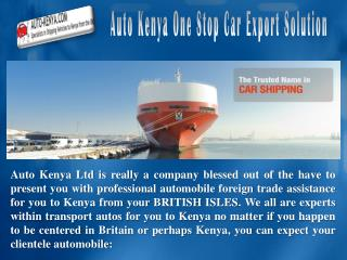 Helicopter Shipping to Kenya