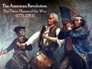 The American Revolution : The Three Phases of the War (1775-1783)