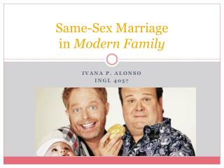 Same-Sex Marriage in  Modern Family