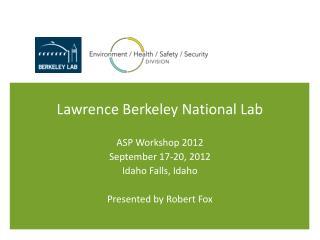 Lawrence Berkeley National Lab