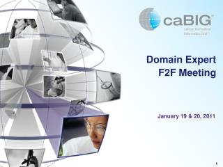 Domain Expert F2F Meeting