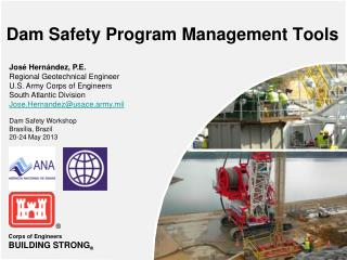 Dam Safety Program Management Tools