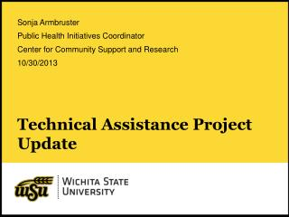 Technical Assistance Project Update