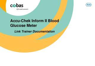 Accu-Chek Inform II Blood Glucose Meter