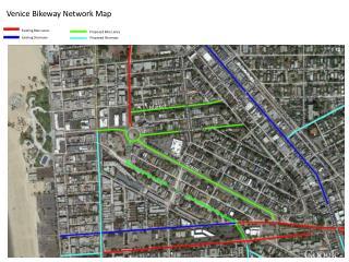 Venice Bikeway Network Map