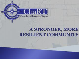 A STRONGER, MORE RESILIENT COMMUNITY