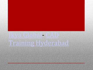 Auto CAD Training in Hyderabad with 100% placement assistanc