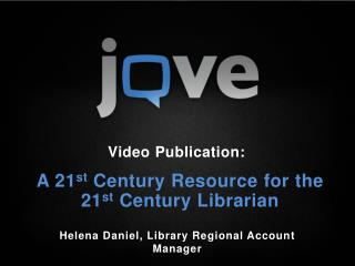A 21 st  Century Resource for the 21 st  Century Librarian