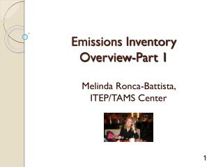 Emissions Inventory  Overview-Part 1