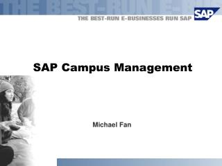SAP Campus Management