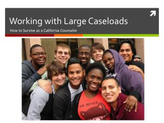 Working with Large Caseloads