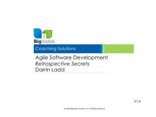 Agile Software Development Retrospective Secrets