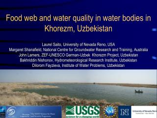 Food web and water quality in water bodies in Khorezm, Uzbekistan