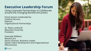 Executive Leadership Forum