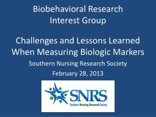 Biobehavioral Research  Interest Group