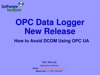 OPC Data Logger New Release