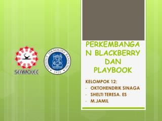 PERKEMBANGAN BLACKBERRY DAN PLAYBOOK