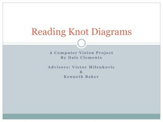 Reading Knot Diagrams