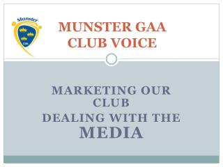 MUNSTER GAA CLUB VOICE