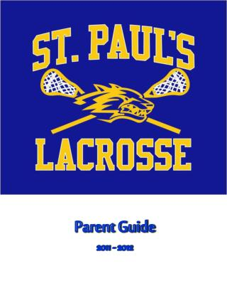 Parent Guide 2011 - 2012