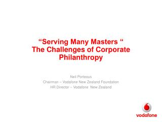 Serving Many Masters   The Challenges of Corporate Philanthropy