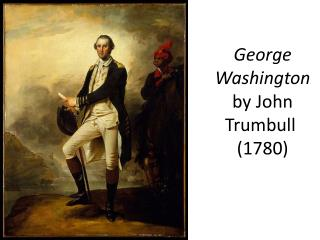 George Washington by John  Trumbull  (1780)