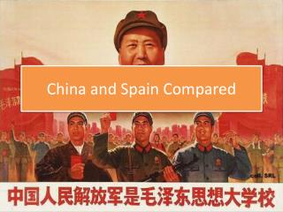 China and Spain Compared