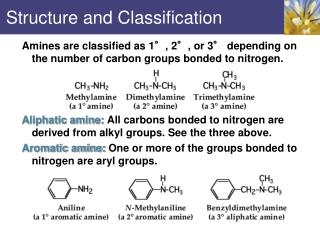 Structure and Classification