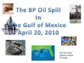 The BP Oil Spill In The Gulf of Mexico April 20, 2010