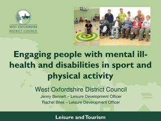 Engaging people with mental ill-health and disabilities in sport and physical activity