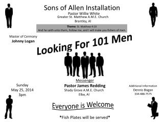 Sons of Allen Installation