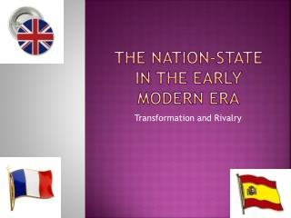 The Nation-State in the Early Modern Era