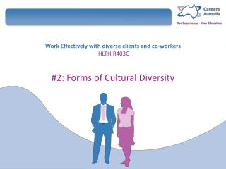 Work Effectively with diverse clients and co-workers HLTHIR403C