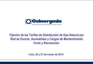 Lima ,  20 y 21 de marzo  de  2014