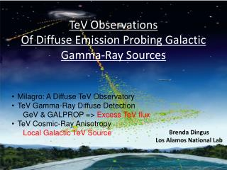 TeV  Observations Of Diffuse Emission Probing Galactic Gamma-Ray Sources