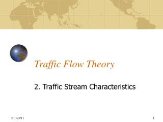 Traffic Flow Theory
