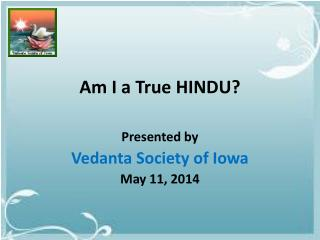 Am I a True HINDU?