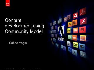 Content development  using Community  Model