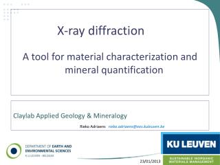 Claylab Applied Geology  &  Mineralogy