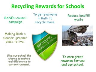 Recycling Rewards for Schools