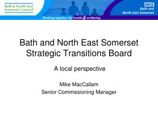 Bath and North East Somerset Strategic Transitions Board