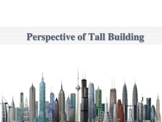 Perspective of Tall Building